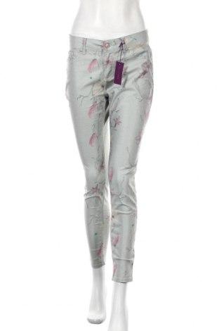 Дамски панталон Lascana, Размер M, Цвят Многоцветен, 66% памук, 31% полиестер, 3% еластан, Цена 35,81лв.