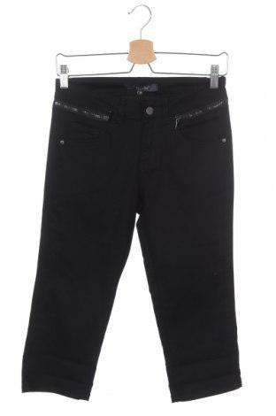 Дамски панталон Marc Lauge, Размер XS, Цвят Черен, 65% памук, 33% полиестер, 2% еластан, Цена 6,82лв.