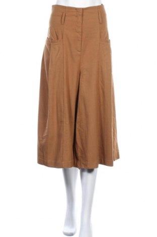 Γυναικείο παντελόνι Margit Brandt, Μέγεθος L, Χρώμα Καφέ, 77% πολυεστέρας, 21% βισκόζη, 2% ελαστάνη, Τιμή 15,20€