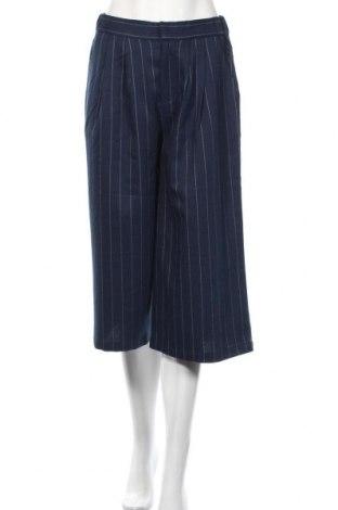 Дамски панталон Mbym, Размер S, Цвят Син, 71% полиестер, 20% вискоза, 7% вълна, 2% еластан, Цена 29,67лв.