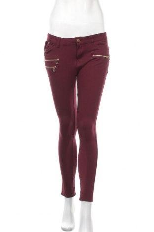 Γυναικείο παντελόνι Miss Anna, Μέγεθος M, Χρώμα Κόκκινο, 68% βαμβάκι, 27% πολυεστέρας, 5% ελαστάνη, Τιμή 6,37€