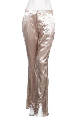 Дамски панталон Nly Eve, Размер M, Цвят Златист, Цена 6,04лв.