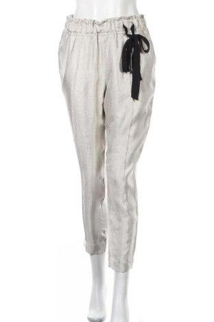 Γυναικείο παντελόνι Noa Noa, Μέγεθος M, Χρώμα Γκρί, Βισκόζη, πολυεστέρας, πολυαμίδη, Τιμή 22,34€