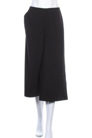 Дамски панталон Object, Размер M, Цвят Черен, 62% полиестер, 33% вискоза, 5% еластан, Цена 31,00лв.