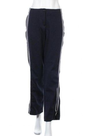 Дамски панталон Opus, Размер S, Цвят Син, 65% вискоза, 24% полиестер, 11% еластан, Цена 12,13лв.