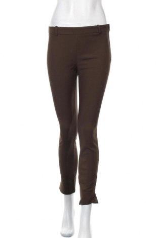 Дамски панталон Oysho, Размер S, Цвят Зелен, 52% памук, 45% полиестер, 3% еластан, Цена 20,65лв.