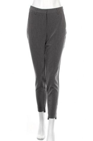 Дамски панталон Selected Femme, Размер S, Цвят Сив, 72% полиестер, 22% вискоза, 6% еластан, Цена 21,07лв.
