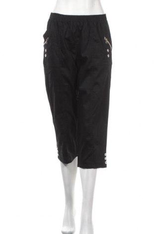 Γυναικείο παντελόνι Soya Concept, Μέγεθος M, Χρώμα Μαύρο, 65% βαμβάκι, 33% πολυεστέρας, 2% ελαστάνη, Τιμή 5,68€