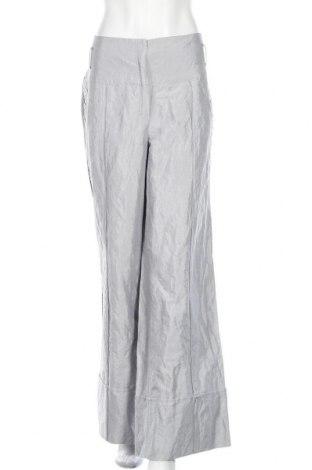 Γυναικείο παντελόνι Vera Mont, Μέγεθος XL, Χρώμα Γκρί, 32% βισκόζη, 31% πολυαμίδη, 30% βαμβάκι, 7% μεταλλικά νήματα, Τιμή 21,82€