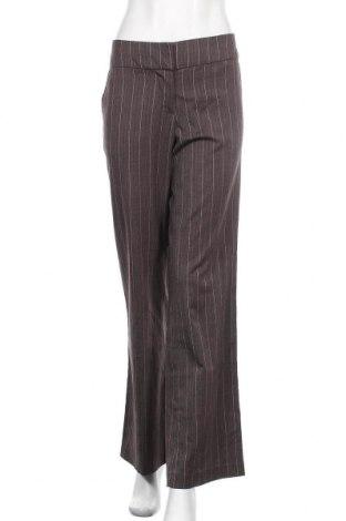 Дамски панталон Vero Moda, Размер L, Цвят Кафяв, 65% полиестер, 32% вискоза, 3% еластан, Цена 9,28лв.