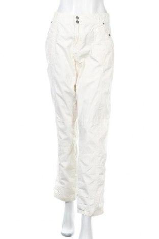Дамски панталон Vrs Woman, Размер XL, Цвят Бял, Памук, Цена 7,35лв.