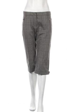 Дамски панталон Weekend Max Mara, Размер M, Цвят Сив, 56% памук, 34% вълна, 2% еластан, 8% полиамид, Цена 46,00лв.