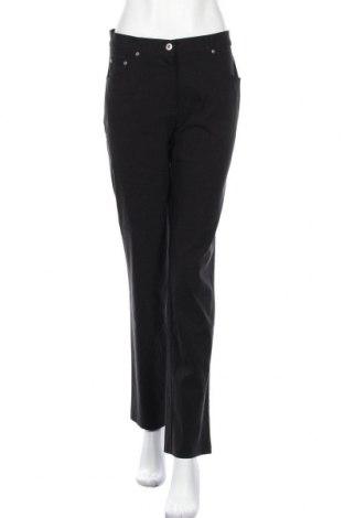 Дамски панталон Yessica, Размер M, Цвят Черен, 70% вискоза, 27% полиамид, 3% еластан, Цена 9,28лв.