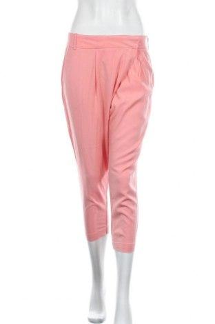Дамски панталон Zara, Размер L, Цвят Розов, Лиосел, Цена 20,16лв.