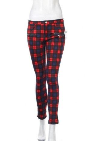 Дамски панталон Zara Trafaluc, Размер M, Цвят Син, 95% полиестер, 5% еластан, Цена 13,65лв.
