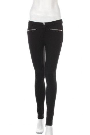 Дамски панталон Zara Trafaluc, Размер S, Цвят Черен, 70% вискоза, 26% полиамид, 4% еластан, Цена 16,34лв.