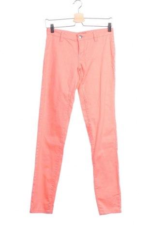 Дамски панталон Znk, Размер XS, Цвят Розов, 98% памук, 2% еластан, Цена 9,98лв.