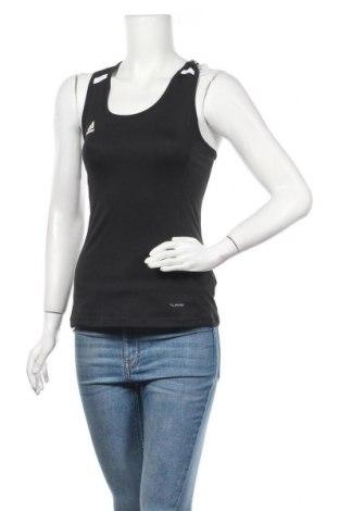 Γυναικείο αμάνικο μπλουζάκι Adidas, Μέγεθος S, Χρώμα Μαύρο, 91% πολυεστέρας, 9% ελαστάνη, Τιμή 26,29€