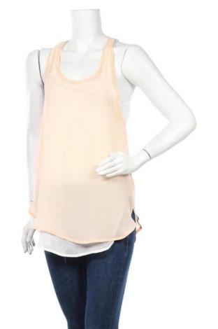 Γυναικείο αμάνικο μπλουζάκι Ambiance Apparel, Μέγεθος M, Χρώμα Λευκό, Πολυεστέρας, Τιμή 3,64€