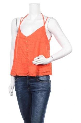Γυναικείο αμάνικο μπλουζάκι Ardene, Μέγεθος M, Χρώμα Πορτοκαλί, 50% βαμβάκι, 50% βισκόζη, Τιμή 3,64€
