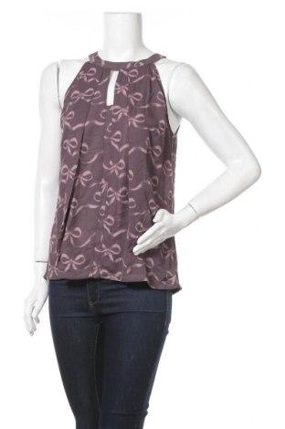 Γυναικείο αμάνικο μπλουζάκι Banana Republic, Μέγεθος S, Χρώμα Βιολετί, 100% πολυεστέρας, Τιμή 4,39€