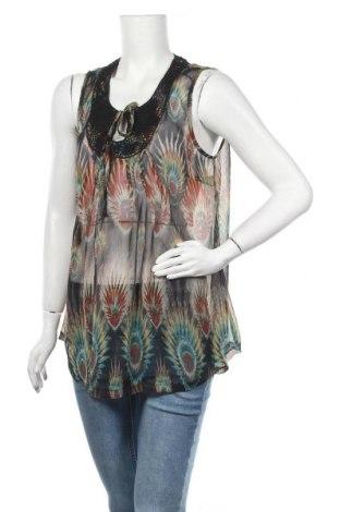 Γυναικείο αμάνικο μπλουζάκι Cha Cha, Μέγεθος L, Χρώμα Πολύχρωμο, Τιμή 3,86€