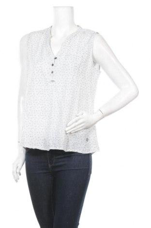 Γυναικείο αμάνικο μπλουζάκι Cha Cha, Μέγεθος L, Χρώμα Λευκό, Βαμβάκι, Τιμή 3,41€