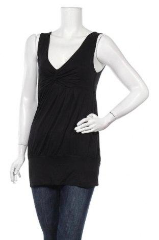 Γυναικείο αμάνικο μπλουζάκι Cubus, Μέγεθος L, Χρώμα Μαύρο, 97% βισκόζη, 3% ελαστάνη, Τιμή 6,59€