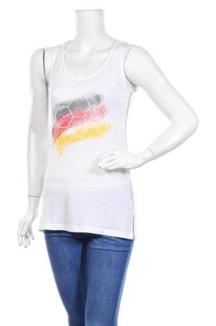 Дамски потник De.corp By Esprit, Размер L, Цвят Бял, 50% памук, 50% модал, Цена 5,88лв.