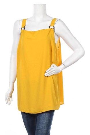 Γυναικείο αμάνικο μπλουζάκι Dorothy Perkins, Μέγεθος XXL, Χρώμα Κίτρινο, Πολυεστέρας, Τιμή 14,84€