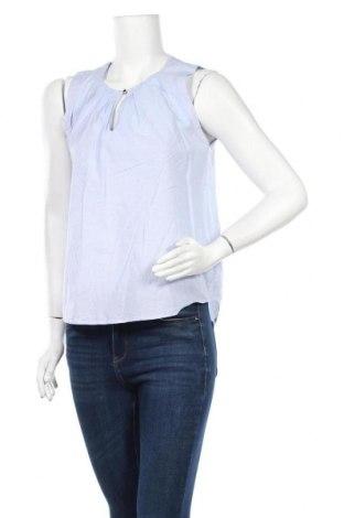 Γυναικείο αμάνικο μπλουζάκι Holly & Whyte By Lindex, Μέγεθος M, Χρώμα Μπλέ, Βαμβάκι, Τιμή 7,18€