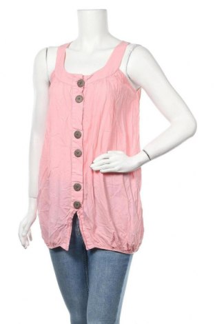 Γυναικείο αμάνικο μπλουζάκι Just Female, Μέγεθος S, Χρώμα Ρόζ , Βαμβάκι, Τιμή 8,18€