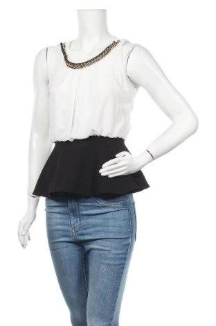 Γυναικείο αμάνικο μπλουζάκι Madonna, Μέγεθος S, Χρώμα Λευκό, Πολυεστέρας, Τιμή 3,21€