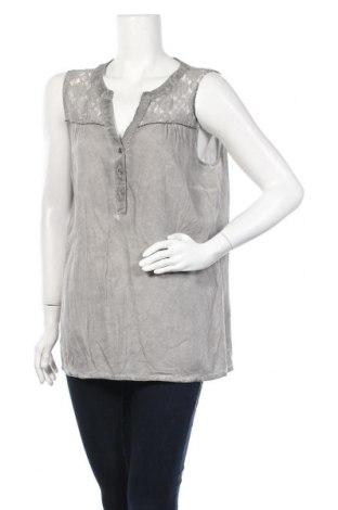 Γυναικείο αμάνικο μπλουζάκι Miss Etam, Μέγεθος L, Χρώμα Γκρί, Τιμή 5,36€