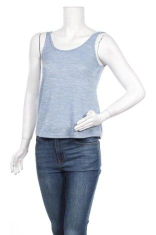 Γυναικείο αμάνικο μπλουζάκι One Love, Μέγεθος S, Χρώμα Μπλέ, 85% πολυεστέρας, 15% βισκόζη, Τιμή 3,18€