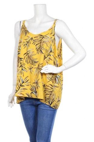 Γυναικείο αμάνικο μπλουζάκι Soya Concept, Μέγεθος XXL, Χρώμα Κίτρινο, Βισκόζη, Τιμή 5,84€