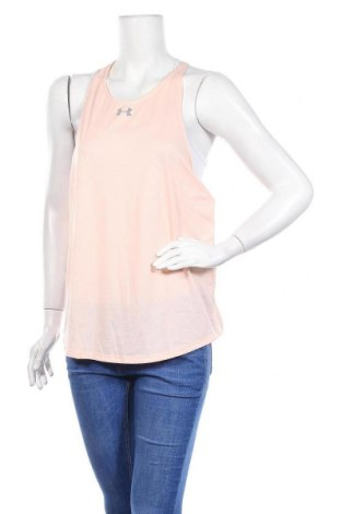 Dámské tilko  Under Armour, Velikost XL, Barva Růžová, 94% polyester, 6% elastan, Cena  230,00Kč
