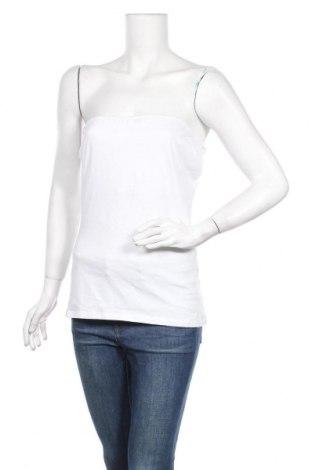 Γυναικείο αμάνικο μπλουζάκι Up 2 Fashion, Μέγεθος L, Χρώμα Λευκό, 95% βαμβάκι, 5% ελαστάνη, Τιμή 3,18€