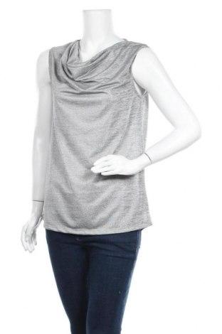 Γυναικείο αμάνικο μπλουζάκι Up 2 Fashion, Μέγεθος L, Χρώμα Γκρί, 95% πολυεστέρας, 5% ελαστάνη, Τιμή 4,87€