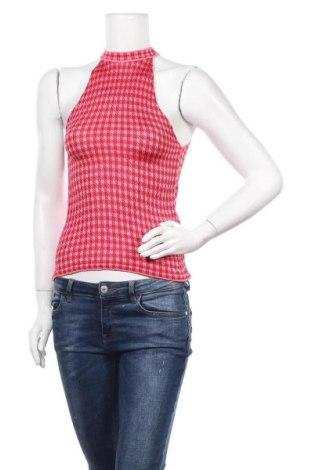 Γυναικείο αμάνικο μπλουζάκι Zara Knitwear, Μέγεθος S, Χρώμα Κόκκινο, Βισκόζη, Τιμή 10,72€