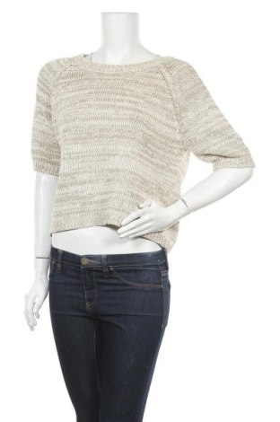 Γυναικείο πουλόβερ Atmosphere, Μέγεθος M, Χρώμα  Μπέζ, 50% βαμβάκι, 42% πολυεστέρας, 8% πολυαμίδη, Τιμή 17,28€
