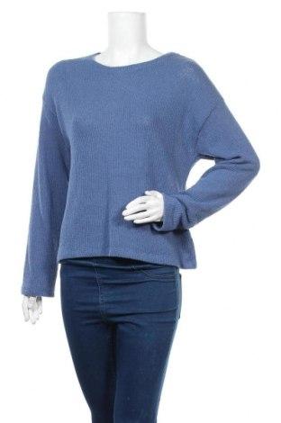 Γυναικείο πουλόβερ Design By Kappahl, Μέγεθος S, Χρώμα Μπλέ, 87% βαμβάκι, 13% πολυεστέρας, Τιμή 7,86€