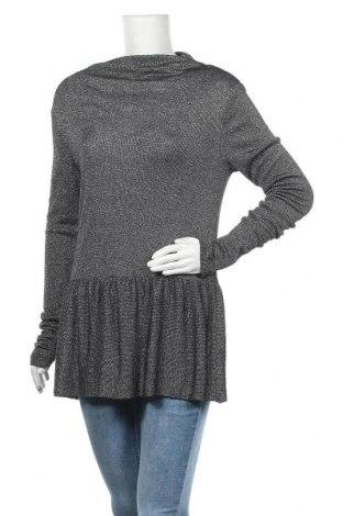 Γυναικείο πουλόβερ Designers Remix, Μέγεθος M, Χρώμα Ασημί, 55% βισκόζη, 45% μεταλλικά νήματα, Τιμή 10,23€