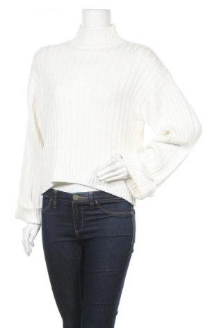 Дамски пуловер Even&Odd, Размер L, Цвят Бял, 50% памук, 50% полиакрил, Цена 42,00лв.