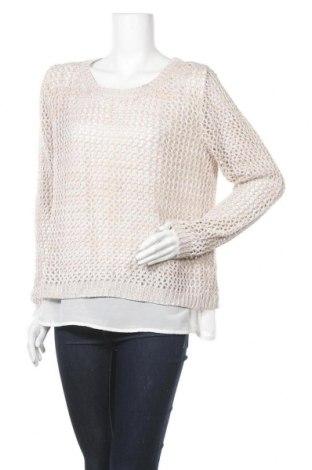 Γυναικείο πουλόβερ Fransa, Μέγεθος L, Χρώμα  Μπέζ, Πολυεστέρας, Τιμή 15,43€