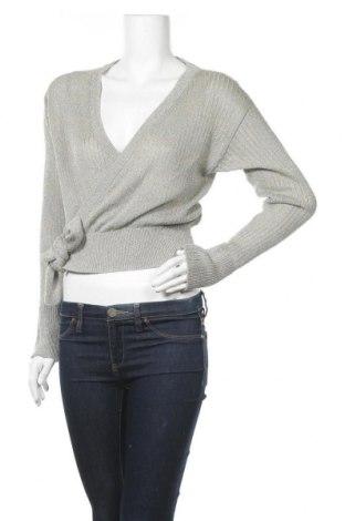 Γυναικείο πουλόβερ H&M, Μέγεθος M, Χρώμα Πολύχρωμο, 64% βισκόζη, 20% πολυεστέρας, 16% μεταλλικά νήματα, Τιμή 15,43€