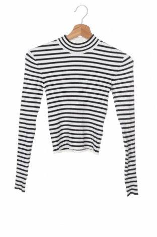Γυναικείο πουλόβερ H&M Divided, Μέγεθος XS, Χρώμα Λευκό, 45% βισκόζη, 37%ακρυλικό, 16% πολυαμίδη, 2% ελαστάνη, Τιμή 16,08€