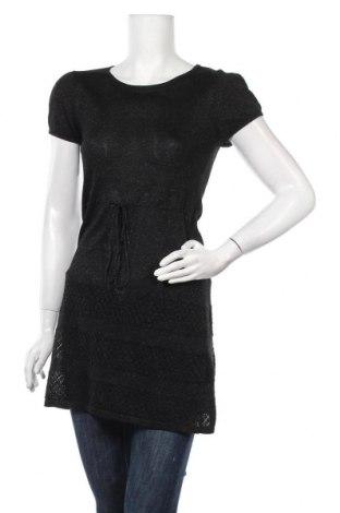 Дамски пуловер H&M Divided, Размер M, Цвят Черен, 77% вискоза, 23% метални нишки, Цена 25,52лв.
