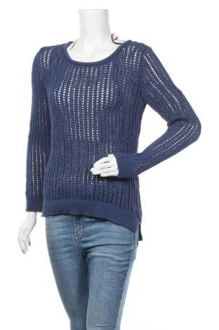Дамски пуловер H&M L.O.G.G., Размер S, Цвят Син, 61% памук, 39% полиамид, Цена 16,50лв.