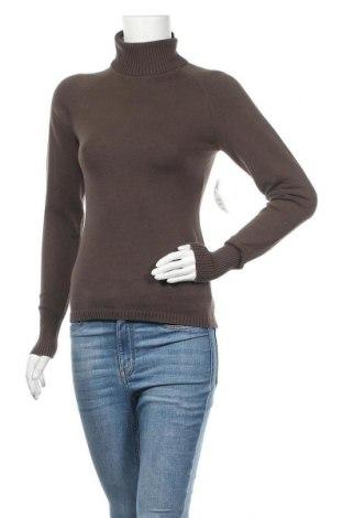 Γυναικείο πουλόβερ H&M L.O.G.G., Μέγεθος S, Χρώμα Καφέ, 79% βαμβάκι, 18% πολυαμίδη, 3% ελαστάνη, Τιμή 17,94€